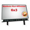 Manifesto 6x3 per affissione