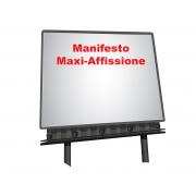 Manifesto 3x2 per affissione