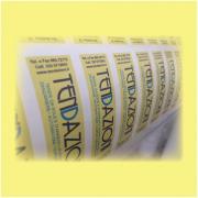 Etichette Adesive in PVC max 24 cm²